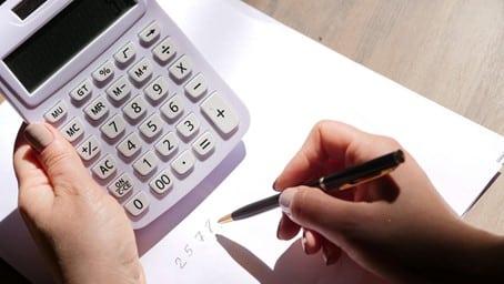 Calcul avec une calculette