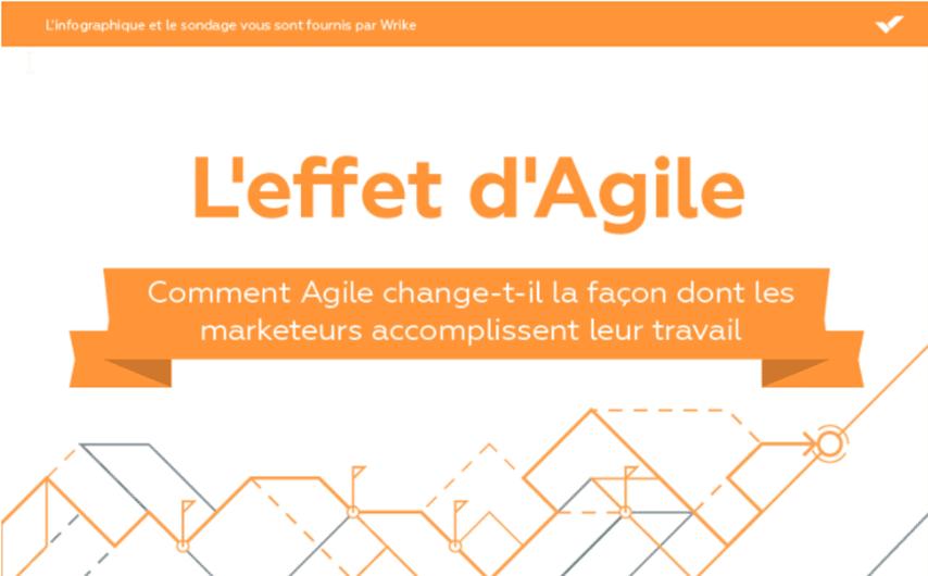 Infographie l'effet d'Agile
