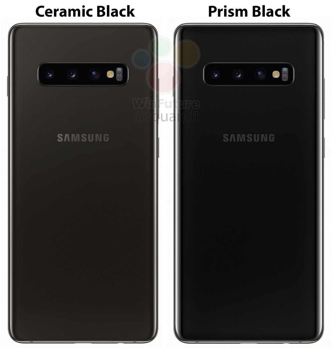 Ceramic Black Galaxy S10+