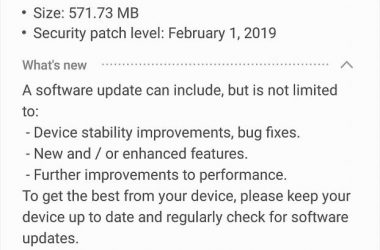 note 8 official pie update